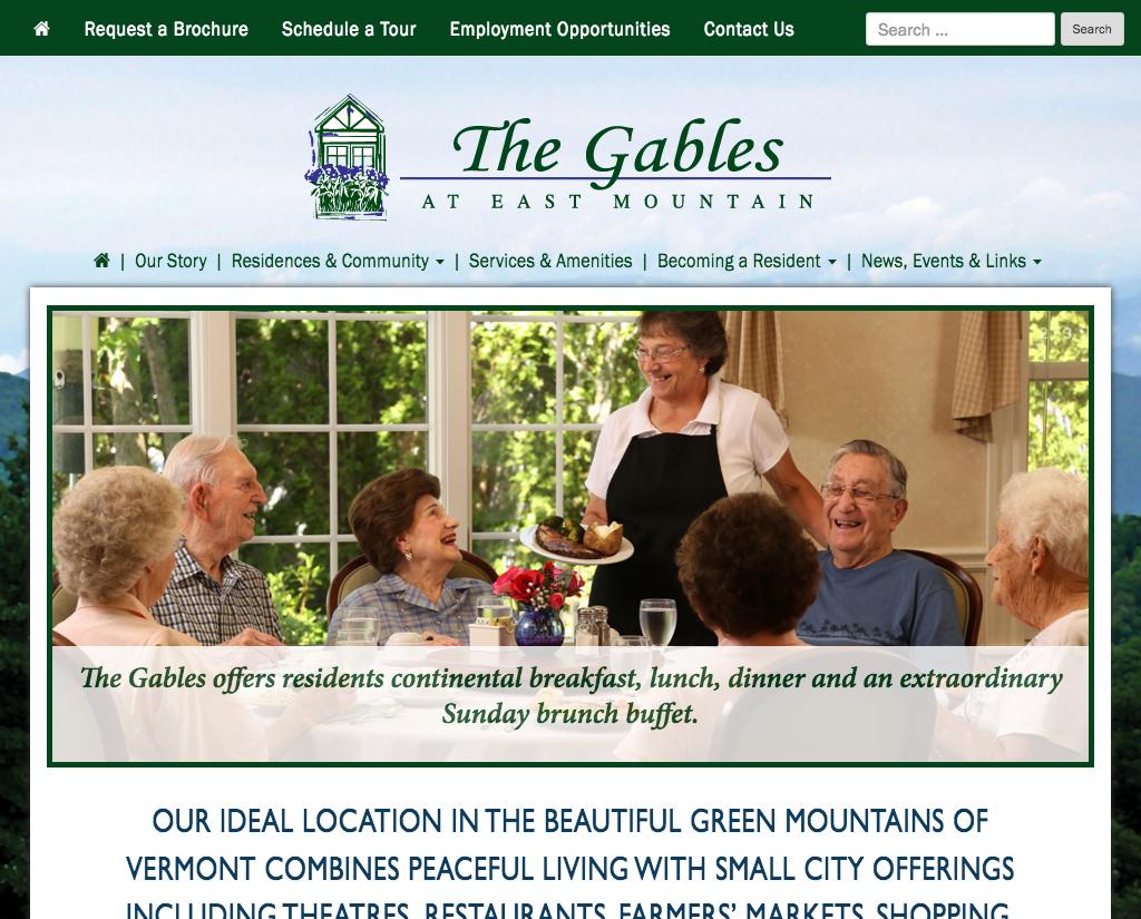 "<a href=""http://thegablesvt.com"" target=""_blank"">The Gables</a>"