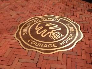 Bronze plaque by Green Screen Graphics of Rutland Vermont