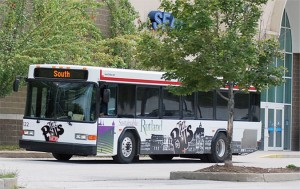 Bus graphics wrap by Green Screen Graphics of Rutland Vermont