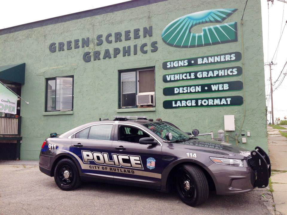 Law enforcement vehicle graphics vehicle ideas for Vermont motor vehicle laws