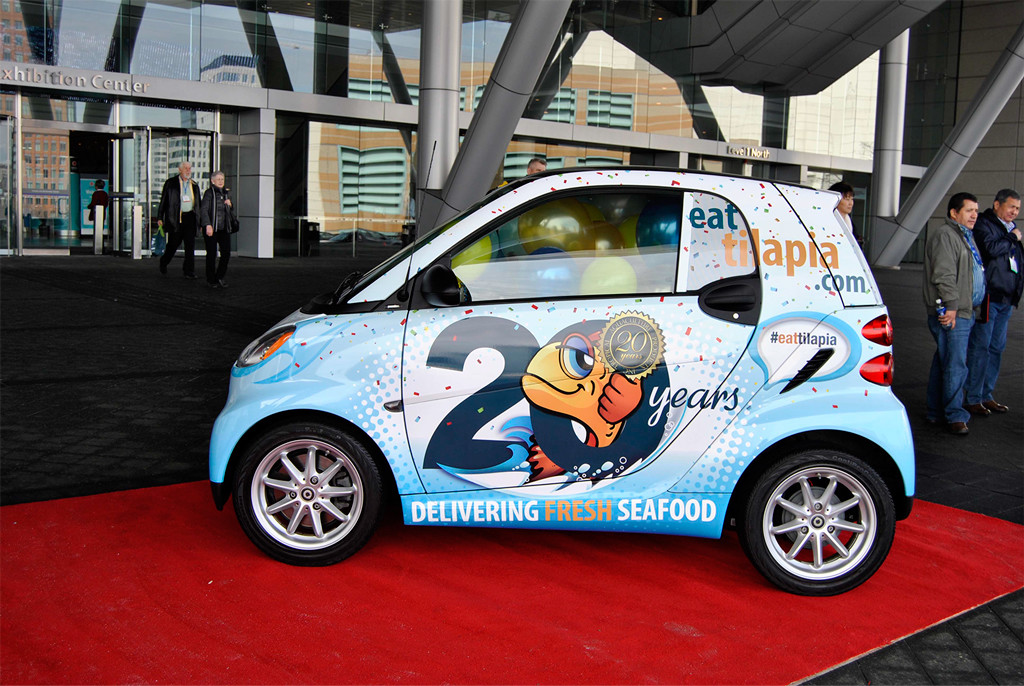 Eat-tilapia-smart-car