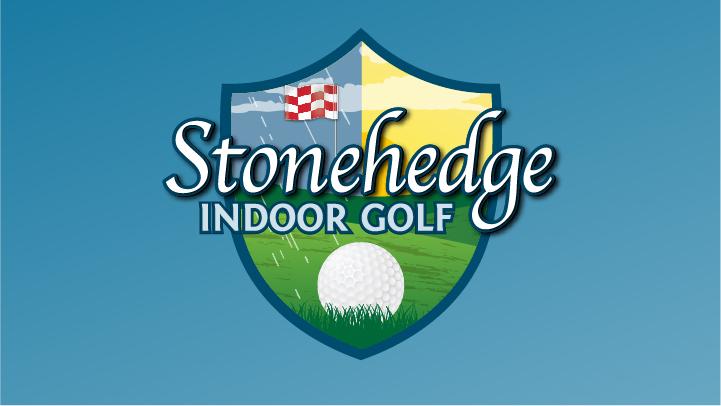Logo Design for Stonehedge Indoor Golf in Rutland, VT