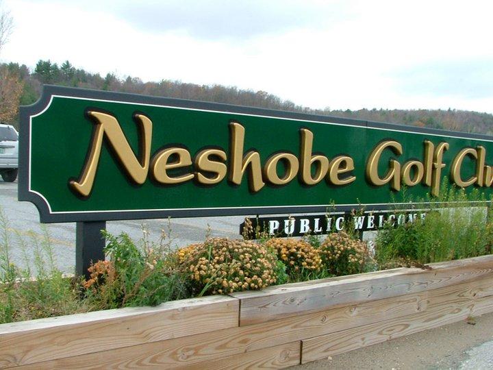 Neshobe Golf Sign