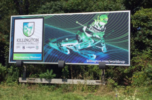 Killington Womens World Cup Billboard
