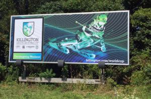 Killington Womens World Cup Billboard