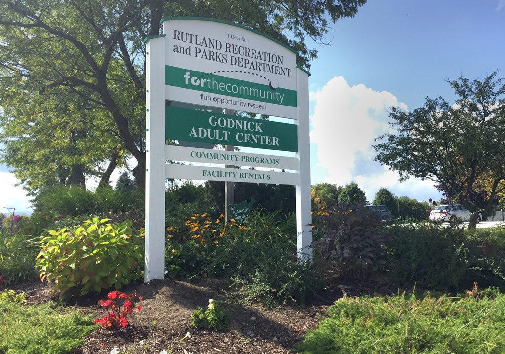 Rutland-Rec-Godnick-Adult-Center-Sign
