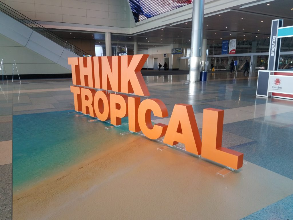 Think Tropical Boston Exhibit 2017