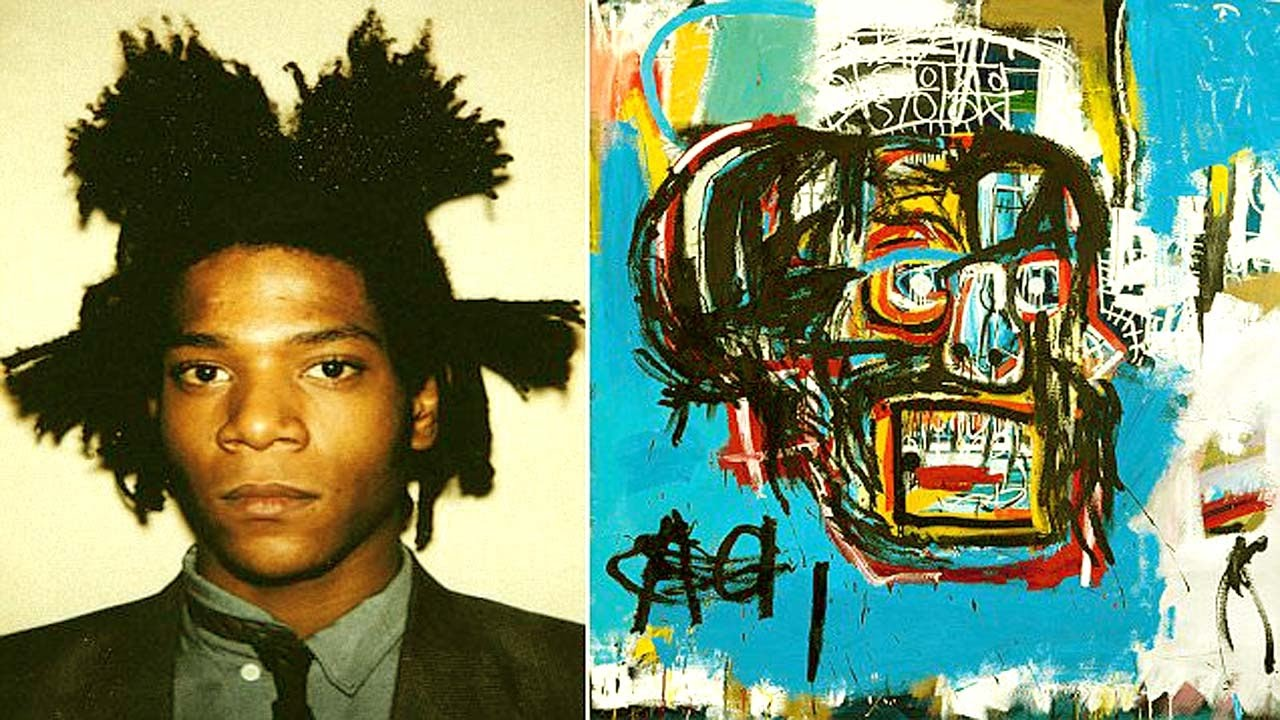 jean michel basquiat Jean-michel basquiat, untitled (bluto nero), 1982 acrylic and oil paintstick on paper, 30 x 22 inches (76 x 56 cm) the schorr family collection.
